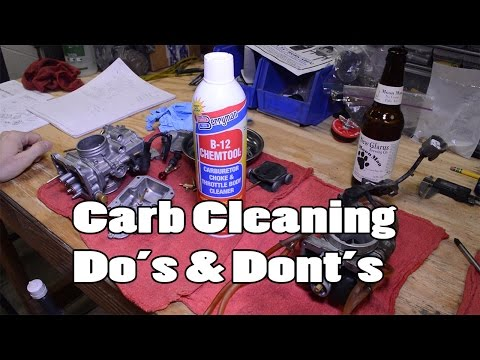 Berryman B-12 and Carburetor Cleaning Do's & Dont's