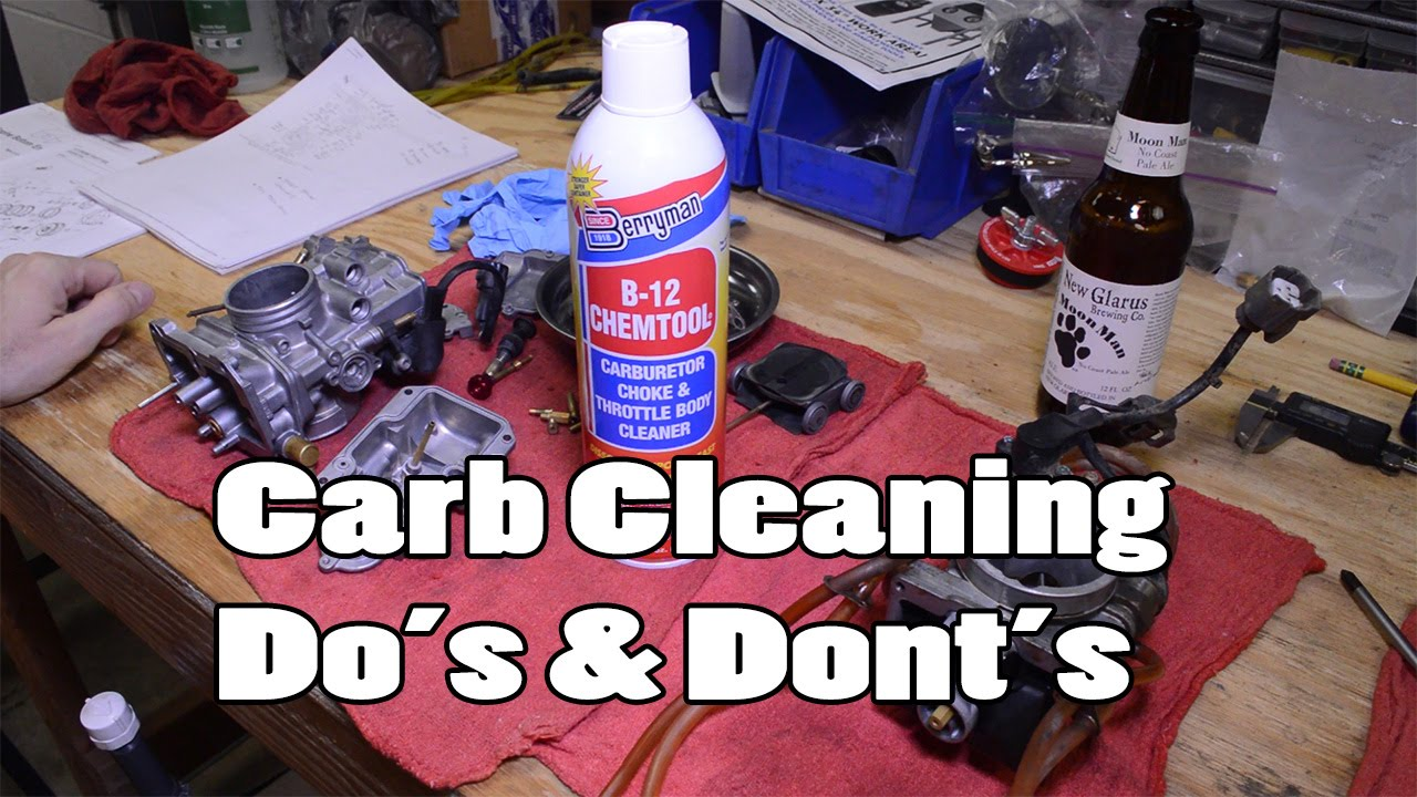 The BEST method for cleaning carburetors – How-To Motorcycle