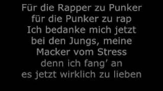 Casper - Kein Held (Lyrics) [On screen]