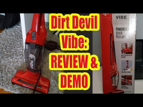 Dirt Devil Vibe Review and Demo