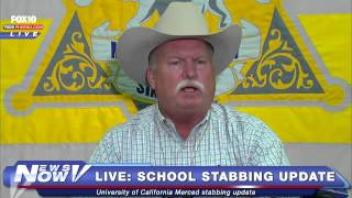 FNN: U.C. Merced Stabbing Update FULL Press Conference