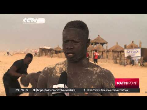 Senegal Wrestlers juggle faith and sport during Ramadan