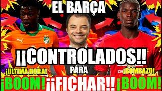 ¡¡ EL BARÇA POGBA y NICOLAS PEPÉ ¡¡CONTROLADOS !! FC BARCELONA NOTICIAS