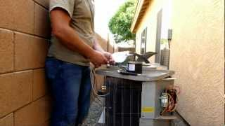 how to change a fan motor on the AC unit( DIY).