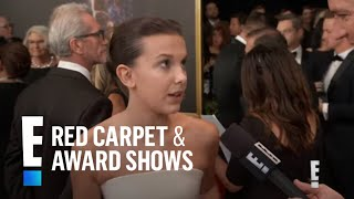 Millie Bobby Brown Talks Possible History-Making Emmy Win | E! Red Carpet & Award Shows