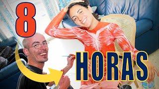Repeat youtube video BodyPainting Eduardo Corral 2012