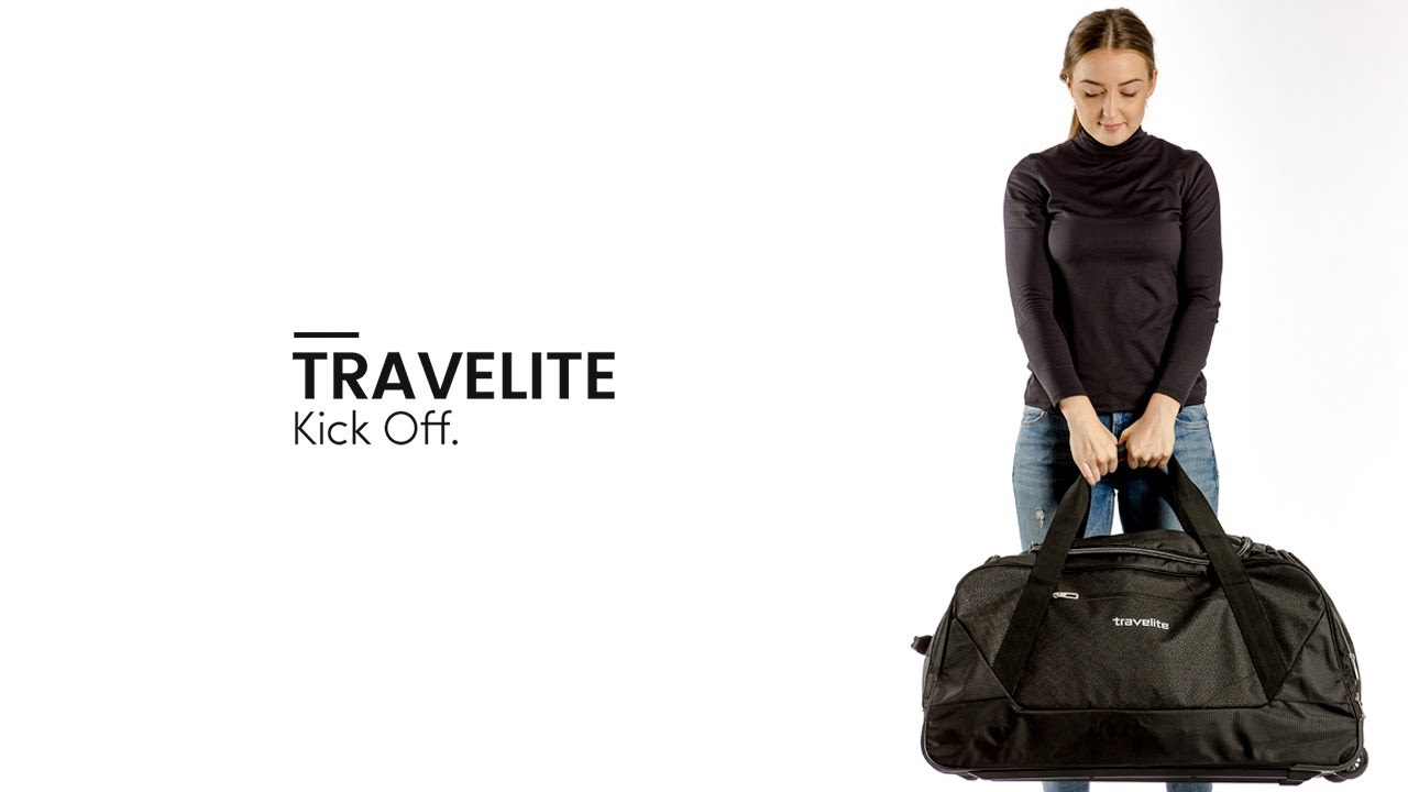 travelite kick off iv rucksack trolley