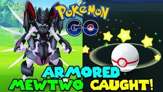 ARMORED MEWTWO CAUGHT IN POKEMON GO