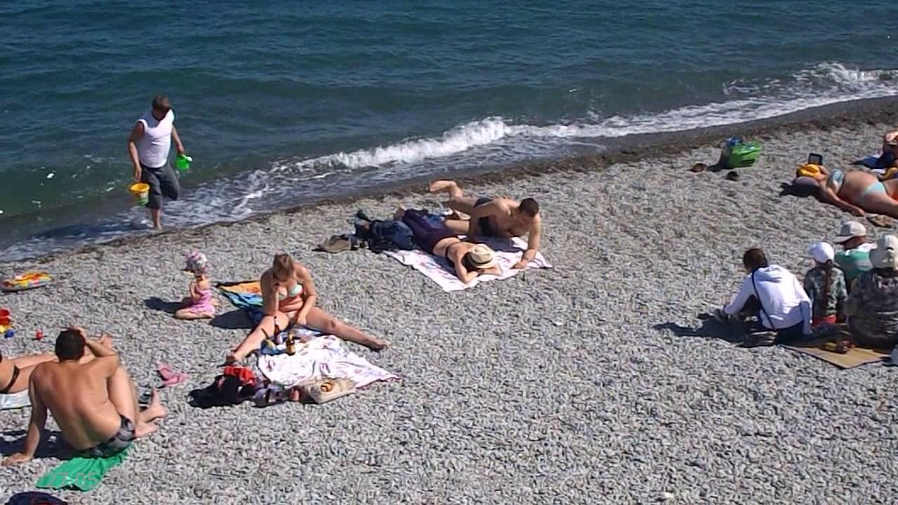 Крым сейчас фото на пляже