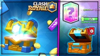 omg opening the new clan chest in clash royale   new update