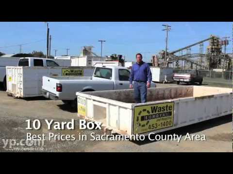 Waste Removal & Recycling Inc. | Sacramento, CA