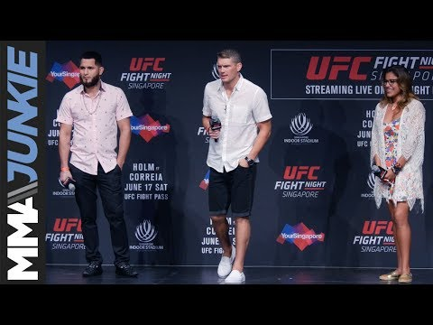 UFC Fight Night 111 Fan Q&A with Jorge Masvidal, Stephen Thompson, and Julianna Pena