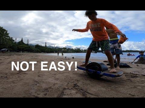 Onewheel Beach Riding Tips
