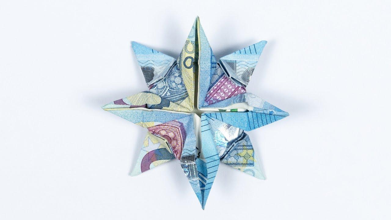 Geldgeschenk Stern ⭐️ Für Weihnachten Falten