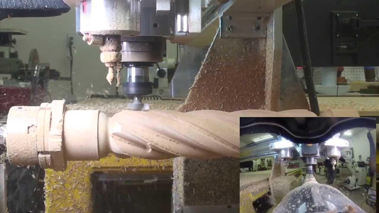 Vectric Barley Twist Tutorial