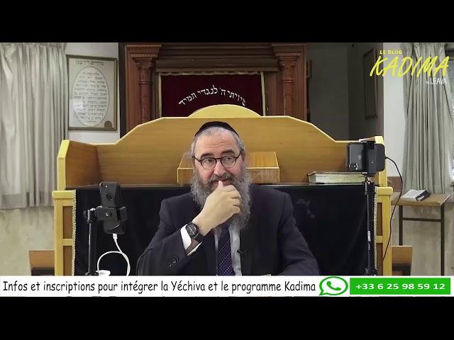 Rav Yehia Benchetrit :  Assume ton choix !