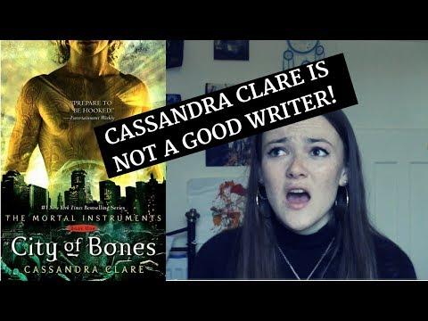 The Shadowhunter Books are Dreadful: Part 1 - Alleged Plagiarism and Characterisation