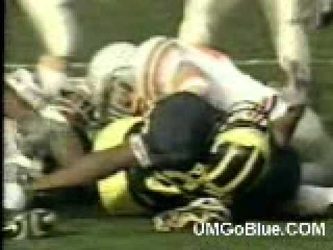 2003 Michigan Wolverines vs Ohio State- Buckeye Thuggery