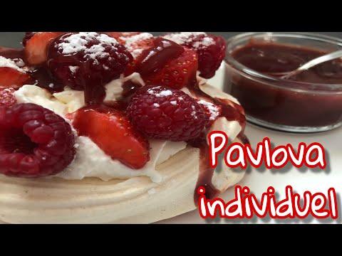🍎❤️-pavlovas-individuels-fraise/framboise---recette-facile