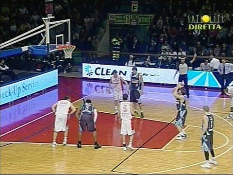 Legadue 2007/'08 Trenkwalder Reggio Emilia - Indesit Fabriano Basket 99-70
