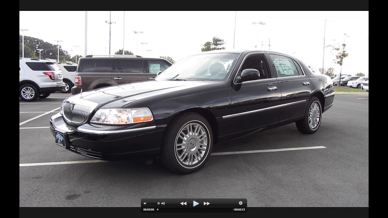 small resolution of 2011 lincoln town car signature limited start up exhaust and in depth tour