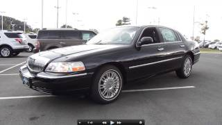 2011 Lincoln Town Car Signature Limited, Start Up, Exhaust, and In Depth Tour