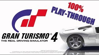 Gran Turismo 4 - Manufacturer/Extreme Events (100% Playthrough) **New T Shirt In Merch Store**