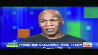 Piers Morgan Tonight Mike Tyson Interview Part 1-2