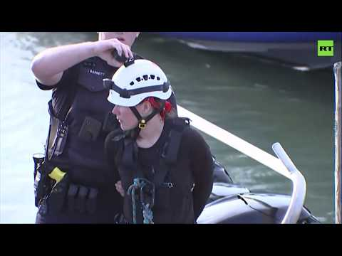 Greenpeace activists arrested after closing off Houston Channel