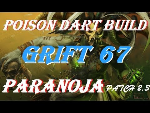 Diablo 3 Grift 67 Witch Doctor poison dart build patch 2.3