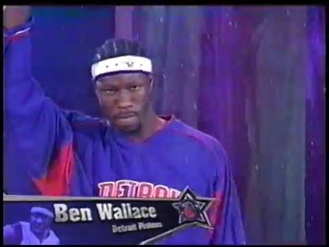 Ben Wallace - 2005 NBA All-Star Game Highlights