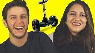 Gençlerin Tepkisi: ELEKTRİKLİ KAYKAY (Segway Mini)
