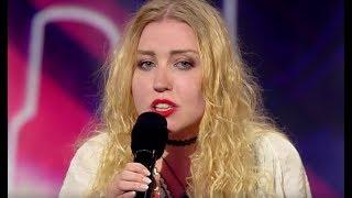 W programie zaśpiewała swoją autorską piosenkę. Jurorzy dostali gęsiej skórki [Mam Talent]