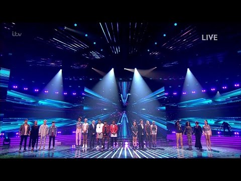 The X Factor UK 2016 Live Shows Week 1 Results Part 1 Full Clip S13E14