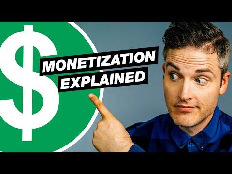 YouTube Monetization Explained: 5 Ways to Earn Money & How YouTube Pays You (2021 UPDATE)