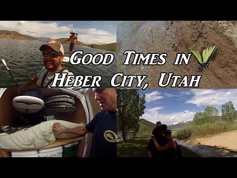 Good Times in Heber City, Utah Van Life On the Road