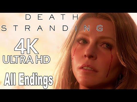 Death Stranding - All Endings [4K]