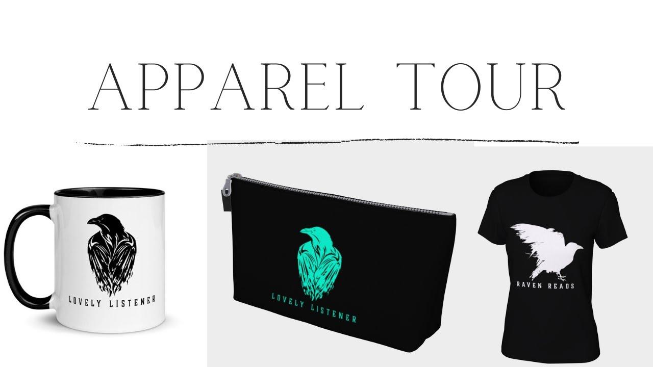 APPAREL SHOP TOUR! | Plus More Updates | Raven Reads