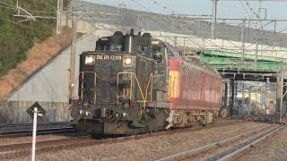【JR西・九州】 DE10+クモヤ443系 筑肥線へ送込み