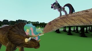 MLP Just Can't Wait to have Wings (Garry's Mod Dinosaur Edition)