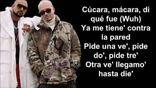 Sean Paul, J Balvin  - Contra La Pared Letra Lyrics