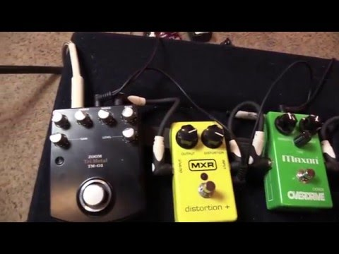 Are Overdrive & Distortion Pedals Better With A Clean Or Dirty Amp?