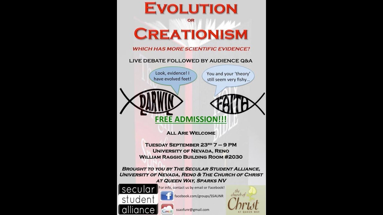 Creation versus evolution essay