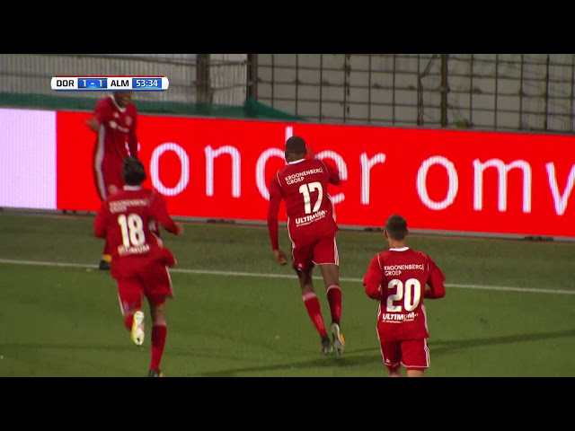 Samenvatting: FC Dordrecht - Almere City FC (1-1)