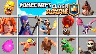 Minecraft | CLASH ROYALE MOD! Nunca verás Clash como antes...
