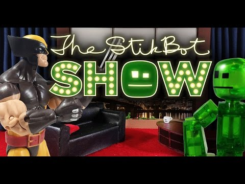 b05c250dae5 The Stikbot Show 🎬 | The one with Wolverine