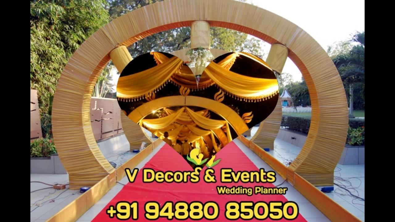 Wedding Golden Theme DecorationsBirthday party decorationsstage