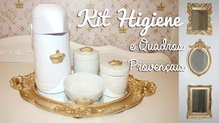 Como Fazer Kit Higiene Provençal + Quadrinhos