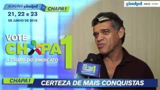 José Augusto da Silva, da Prodam, continua com a Chapa 1 e não abre mão!