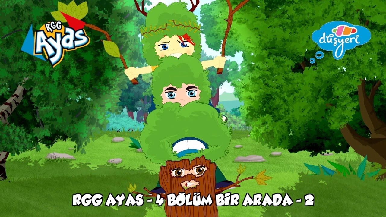 RGG Ayas - 4 Bölüm Bir Arada -2- Çocuk Çizgi Film | Düşyeri